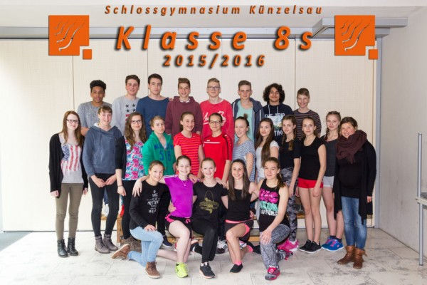 2015-2016 Klasse 08s - webklein