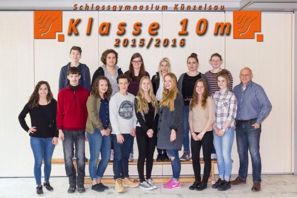 2015-2016 Klasse 10m - webklein