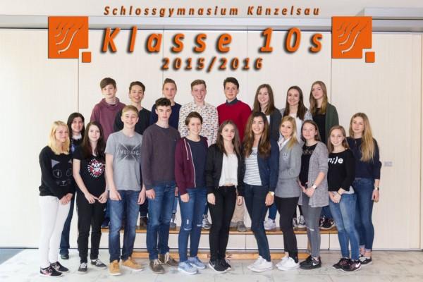 2015-2016 Klasse 10s - webklein
