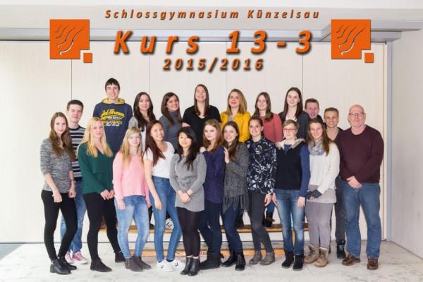 2015-2016 Kurs 13-3 - webklein