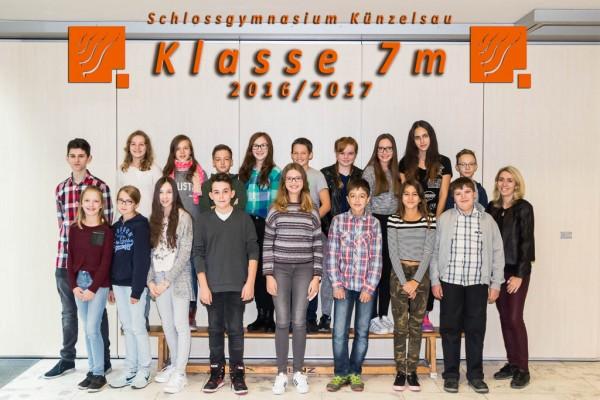 2016-2017 - Klasse 07m