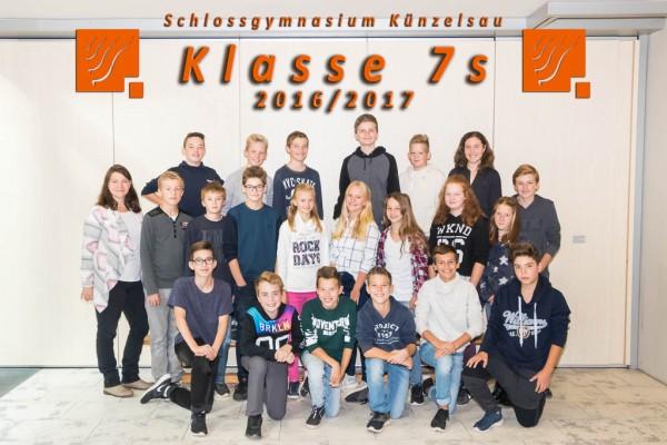 2016-2017 - Klasse 07s