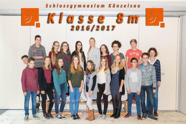 2016-2017 - Klasse 08m
