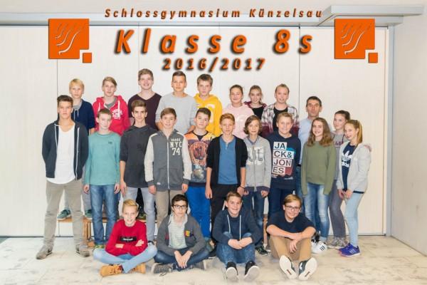 2016-2017 - Klasse 08s