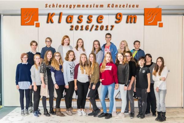 2016-2017 - Klasse 09m