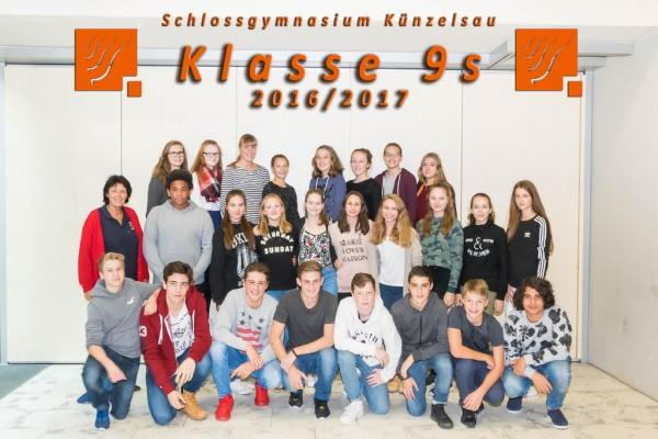 2016-2017 - Klasse 09s