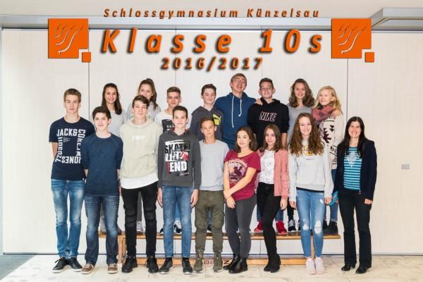 2016-2017 - Klasse 10s