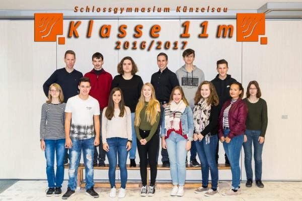 2016-2017 - Klasse 11m