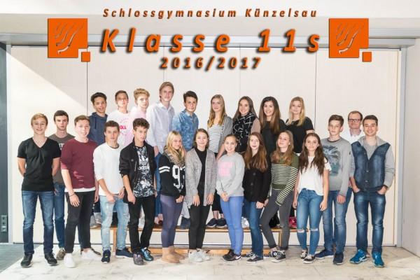 2016-2017 - Klasse 11s